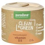 Afbeelding vanPurasana Clean & green vitamine D3 (90 tabletten)
