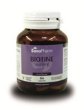 Afbeelding vanSanopharm Biotine 100 mcg (60 tabletten)