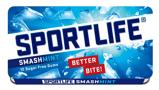 Afbeelding vanSportlife Smashmint suikervrije kauwgom 48 x 1 stuk