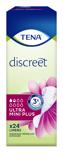 Afbeelding vanTENA Discreet Ultra Mini Plus Inlegkruisjes 24ST