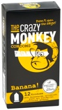 Afbeelding vanThe Crazy Monkey Banana! Condooms 12ST