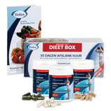 Afbeelding vanEasyline WLS Dieet Box 3x60 vegacaps + Boek