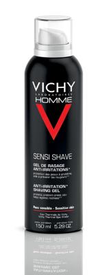 Afbeelding van 10% code LIEFDE10 Vichy Sensi Shave Anti Irritation Shaving Gel 150 Ml Ontharing