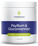 Afbeelding vanVitakruid Psyllium & Glucomannan Poeder 450GR