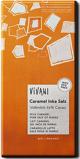 Afbeelding vanVivani Chocoladereep melk caramel met inca zout 10 x 80g