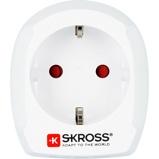 Afbeelding vanSkross Skr1500230 Reisadapter Europa Naar Verenigd Koninkrijk Wit