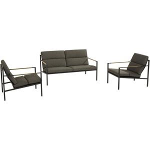 Afbeelding van 4 Seasons Outdoor Loungebank Trentino 2 zits en Loungestoelen