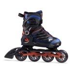 Afbeelding vanFila Wizy Alu Verstelbare Inline Skates Junior Zwart Blauw EU 32 35 Kinderen