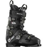Afbeelding vanSalomon S Pro 100 Skischoenen Heren Black Belluga Red 30 30.5