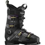 Afbeelding vanSalomon S Pro 90 Skischoenen Dames Black Belluga Gold Glow 26 26.5