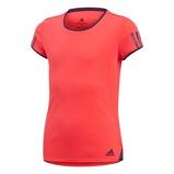 Afbeelding vanAdidas Club Tennisshirt Junior Shock Red 116 Kinderen