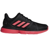 Afbeelding vanAdidas CourtJam Bounce CG6328 Tennisschoenen Heren Black Shock Red EU 40 2/3 Heren