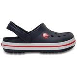 Afbeelding vanCrocs Crocband 204537 Klompen Junior Navy Red EU 25 Kinderen