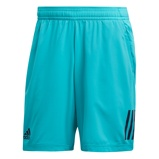 Afbeelding vanAdidas Club 3 Stripes Tennisshort Heren Hi res Aqua S Heren