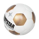 Afbeelding vanDerbystar Classic TT 5 Voetbal 8 X 1 Wit Goud