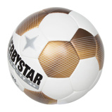 Afbeelding vanDerbystar Classic TT 5 Voetbal 4 X 3 Wit Goud