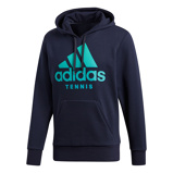 Afbeelding vanAdidas Category Graphic Hoody Tennistrui Heren Legend Ink L Heren