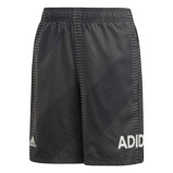 Afbeelding vanAdidas Graphic Short Junior Grey Six Black 164 Kinderen