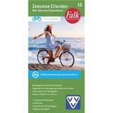 Afbeelding vanFalk Fietskaart 16 Zeeuwse Eilanden Met Zeeuws Vlaanderen