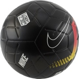 Afbeelding vanNike Neymar Strike Voetbal Black Chrome Yellow Red Orbit
