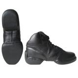 Afbeelding vanPapillon danssneakers splitzool hoog model zwart maat 36