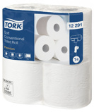 Afbeelding vanToiletpapier Tork T4 12291 Premium 2laags 198vel 48rollen wit Dispensers