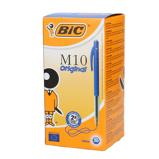 Afbeelding vanBic balpen M10 Clic, 0,4 mm, medium punt, blauw