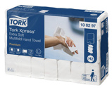 Afbeelding vanTork xpress extra soft mulitfold hand towel premium 21 x 100 stuks