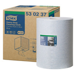 Afbeelding vanTork Heavy Duty Cloth Combi Roll Blue W1/W2/W3 530237
