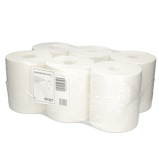 Afbeelding vanPoetsrol Budget Midi 1L 21,5xØ19cmx275m 6rollen Sanitaire Papierwaren