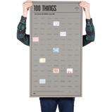 Afbeelding vanDOIY Bucket List Poster 100 Things You Must Do Before Die