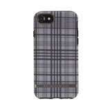 Afbeelding vanRichmond & Finch Checked - Black details for iPhone 6/6S/7/8 black