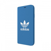 Thumbnail of adidas OR Booklet Case BASIC FW18 for iPhone X/Xs bluebird/white