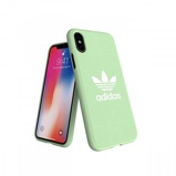 Afbeelding vanadidas OR Moulded Case CANVAS FW18 for iPhone X/Xs clear mint