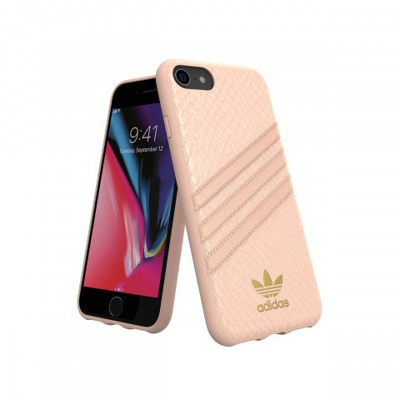 Afbeelding van adidas Originals OR Moulded Case PU SNAKE FW18 Apple iPhone 6/6S/7/8 pink
