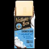 Afbeelding vanNature Box Coconut oil shampoo bar 150 gram
