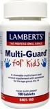 Afbeelding vanLamberts Multi guard for kids (playfair) (100 kauwtabletten)