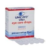 Afbeelding vanUnicare Vita+ Eye Care Oogdruppels 0.35 ml, 20 Ampullen
