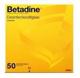 Afbeelding vanBetadine Desinfecterende Zalfgazen, 50 stuks