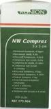 Afbeelding vanKlinion Kompres Non Woven 5 X Cm 175004, 100 stuks
