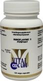 Afbeelding vanVital Cell Life Riboflavine 5 fosfaat/vitamine B2 22 mg (100 capsules)