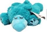 Afbeelding vanWarmies Slapende beer magnetronknuffel turquoise 1st