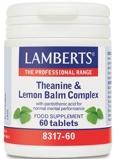 Afbeelding vanLamberts Theanine & citroenmelisse complex (60 tabletten)