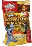 Afbeelding vanOrgran Animal koekjes vanille uitdeelzak (175 gram)
