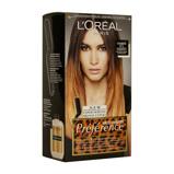 Afbeelding vanL'Oréal Paris Préférence Wild Ombrés haarkleuring no1