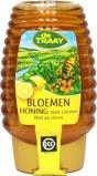 Afbeelding vanTraay Bloemenhoning met citroen knijpfles bio (375 gram)