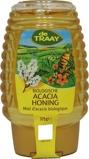 Afbeelding vanTraay Acaciahoning knijpfles bio (375 gram)