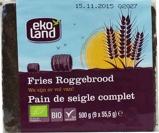 Afbeelding vanEkoland Fries roggebrood (500 gram)