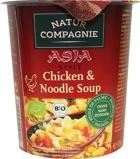 Afbeelding vanNatur Compagnie Cupnoodles kip (55 gram)