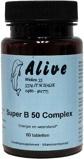 Afbeelding vanAlive Vitamine B super B50 complex (60 tabletten)